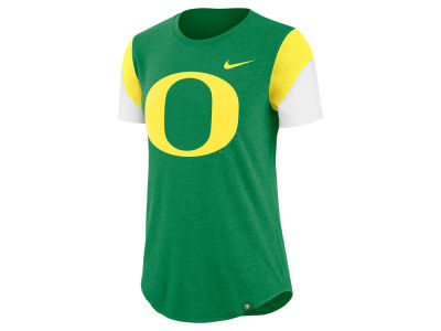 Oregon Ducks Nike NCAA Women's Tri-blend Fan T-Shirt