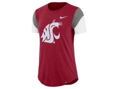 Washington State Cougars Nike NCAA Women's Tri-blend Fan T-Shirt
