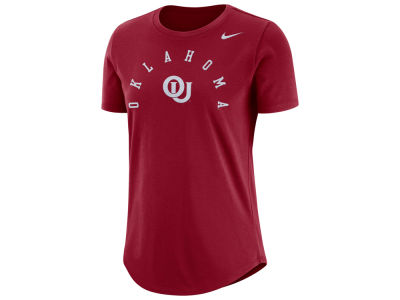 Oklahoma Sooners Nike NCAA Women's Elevated Cotton T-Shirt