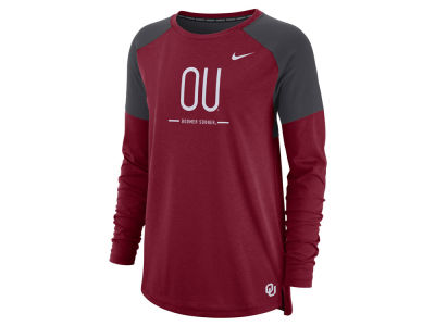 Oklahoma Sooners Nike NCAA Women's Tailgate Long Sleeve T-Shirt