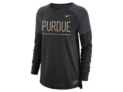 Purdue Boilermakers Nike NCAA Women's Tailgate Long Sleeve T-Shirt