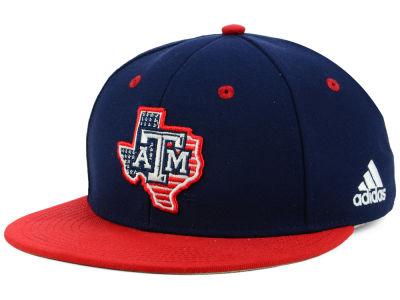 7c595d909e3 Texas A M Aggies adidas NCAA On-Field Baseball Fitted Cap