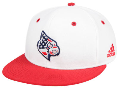 Louisville Cardinals adidas NCAA On-Field Baseball Fitted Cap