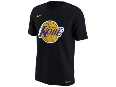 Los Angeles Lakers Kobe Bryant Nike NBA Men's Kobe Lakers Logo T-Shirt