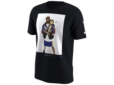 Los Angeles Lakers Kobe Bryant Nike NBA Men's Kobe Championship Photo T-Shirt