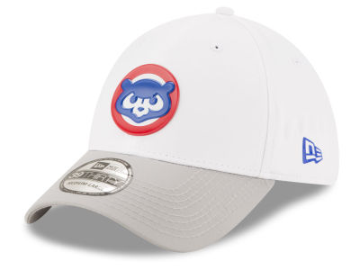 Chicago Cubs New Era MLB White Batting Practice 39THIRTY Cap