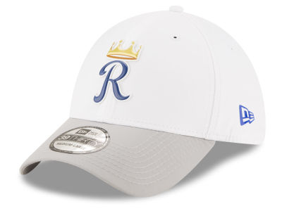 Kansas City Royals New Era MLB White Batting Practice 39THIRTY Cap