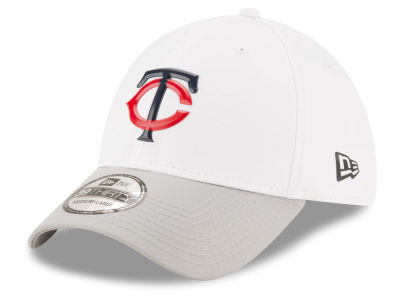Minnesota Twins New Era MLB White Batting Practice 39THIRTY Cap
