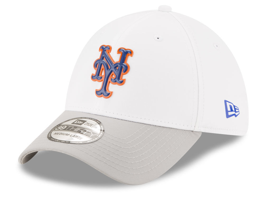9d62c30709b new zealand new york mets new era mlb white batting practice 39thirty cap  83e39 592e7
