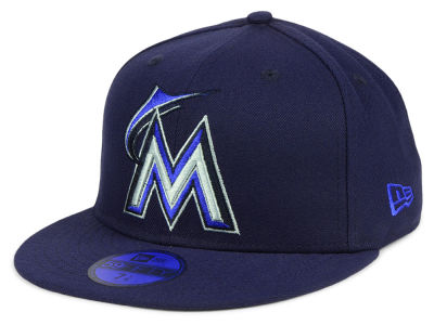Miami Marlins New Era MLB Color Prism Pack 59FIFTY Cap