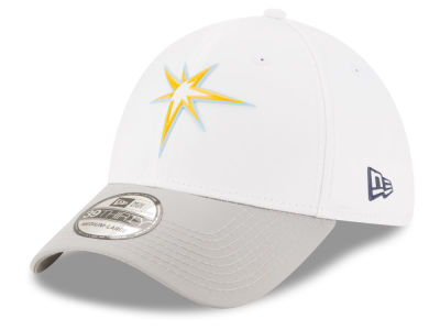 Tampa Bay Rays New Era MLB White Batting Practice 39THIRTY Cap