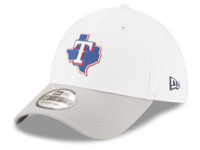 Texas Rangers New Era MLB White Batting Practice 39THIRTY Cap