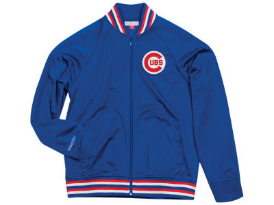 Chicago Cubs Mitchell & Ness MLB Men's Top Prospect Track Jacket