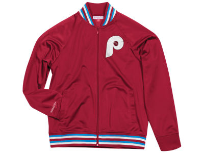 Philadelphia Phillies Mitchell & Ness MLB Men's Top Prospect Track Jacket