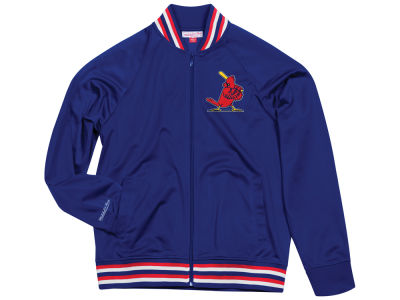 St. Louis Cardinals Mitchell & Ness MLB Men's Top Prospect Track Jacket