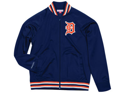 Detroit Tigers Mitchell & Ness MLB Men's Top Prospect Track Jacket