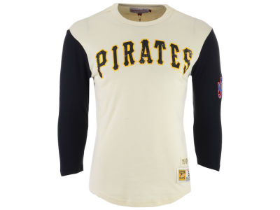 Pittsburgh Pirates Mitchell & Ness MLB Men's Wild Pitch Raglan T-shirt