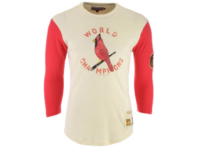 St. Louis Cardinals Mitchell & Ness MLB Men's Wild Pitch Raglan T-shirt
