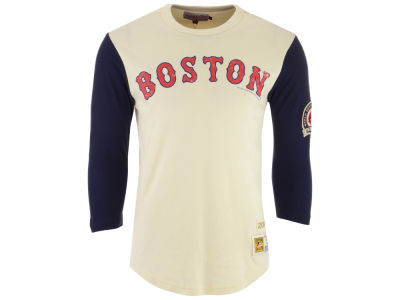 Boston Red Sox Mitchell & Ness MLB Men's Wild Pitch Raglan T-shirt