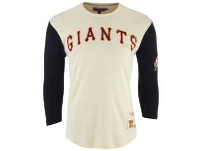 San Francisco Giants Mitchell & Ness MLB Men's Wild Pitch Raglan T-shirt