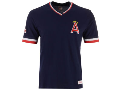 Los Angeles Angels Mitchell & Ness MLB Men's Coop Overtime Vintage Top T-shirt