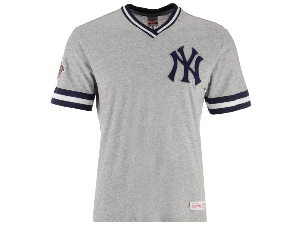 New York Yankees Mitchell   Ness MLB Men s Coop Overtime Vintage Top T-shirt   7fafb3cd4