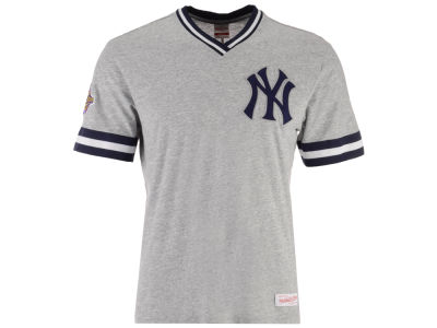 New York Yankees Mitchell & Ness MLB Men's Coop Overtime Vintage Top T-shirt