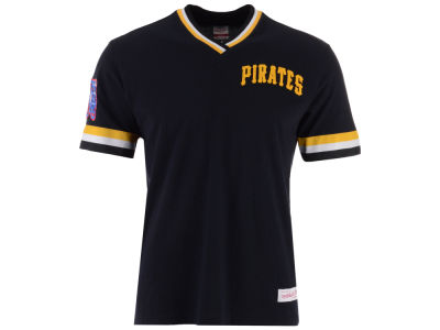 Pittsburgh Pirates Mitchell & Ness MLB Men's Coop Overtime Vintage Top T-shirt