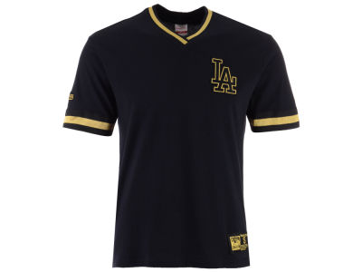 Los Angeles Dodgers MLB Men's Black & Gold Overtime Top T-shirt