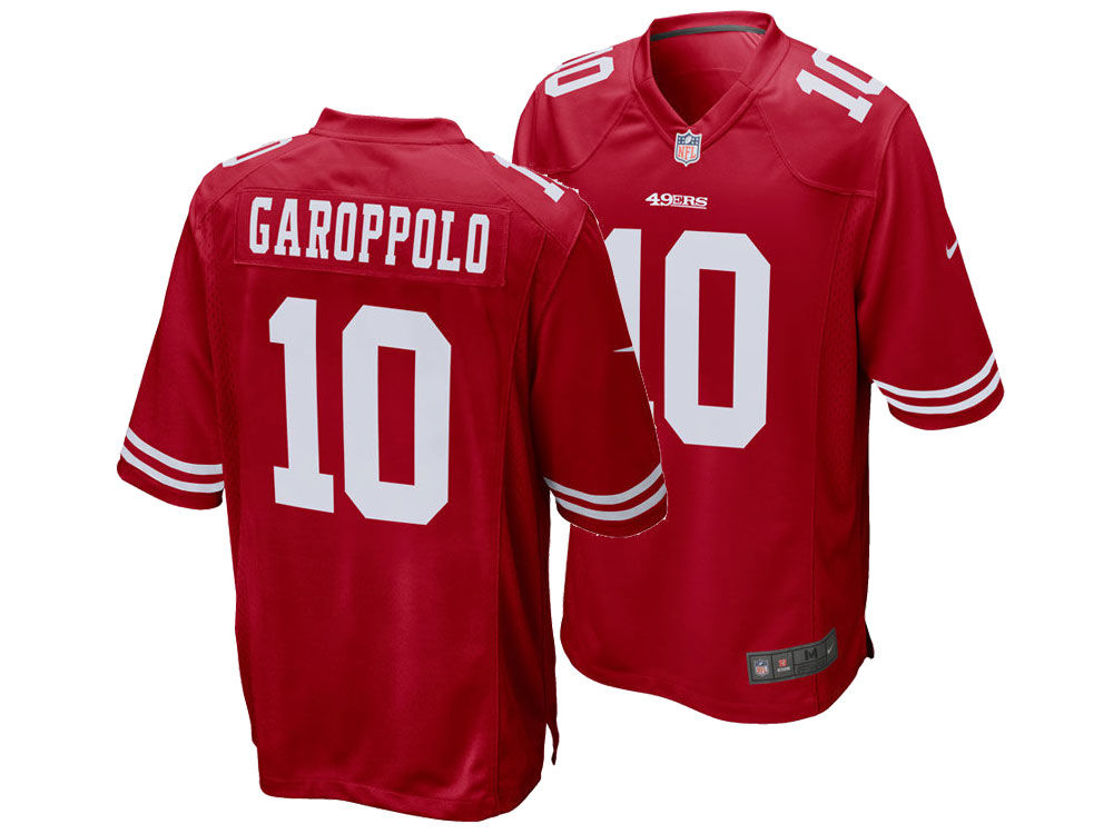 5c5a84b74 San Francisco 49ers Jimmy Garoppolo Nike NFL Men s Game Jersey ...