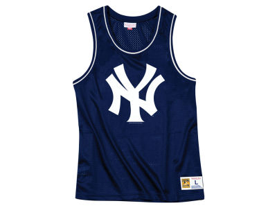 New York Yankees Mitchell & Ness MLB Men's Mesh Tank Top