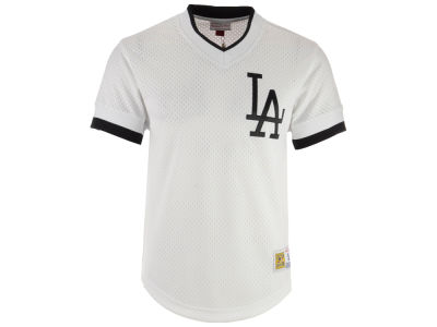 Los Angeles Dodgers MLB Men's Mesh V-Neck Jersey