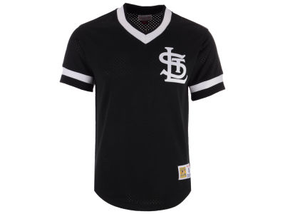 St. Louis Cardinals Mitchell & Ness MLB Men's Mesh V-Neck Jersey