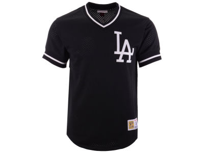 Los Angeles Dodgers Mitchell & Ness MLB Men's Mesh V-Neck Jersey