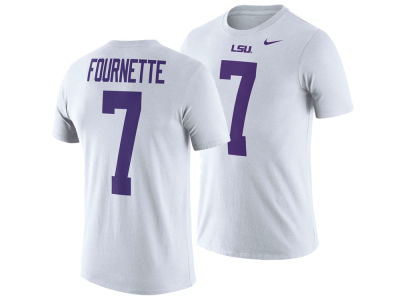 LSU Tigers Leonard Fournette Nike NCAA Men's Name and Number T-shirt