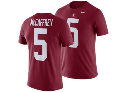 Stanford Cardinal Christian McCaffery Nike NCAA Men's Name and Number T-shirt