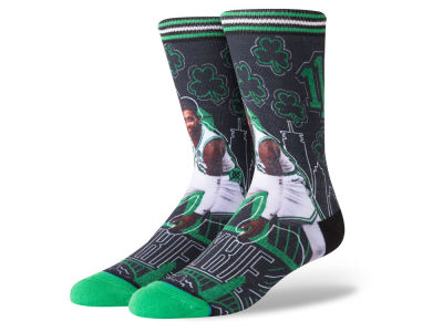 Boston Celtics Kyrie Irving Stance NBA Sketchbook Series Crew Socks