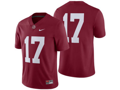 Alabama Crimson Tide #17  Nike NCAA Men's Football Replica Game Jersey