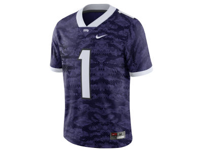 Texas Christian Horned Frogs Nike NCAA Men's Football Replica Game Jersey