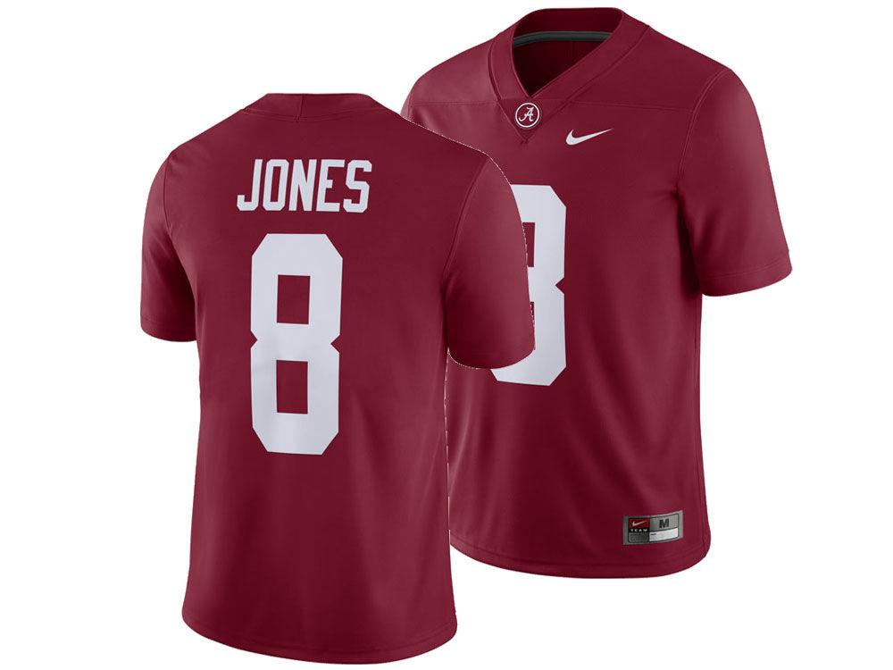 Alabama Crimson Tide Julio Jones Nike NCAA Men s Player Game Jersey ... bce35665a