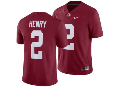 Alabama Crimson Tide Derrick Henry Nike NCAA Men's Player Game Jersey