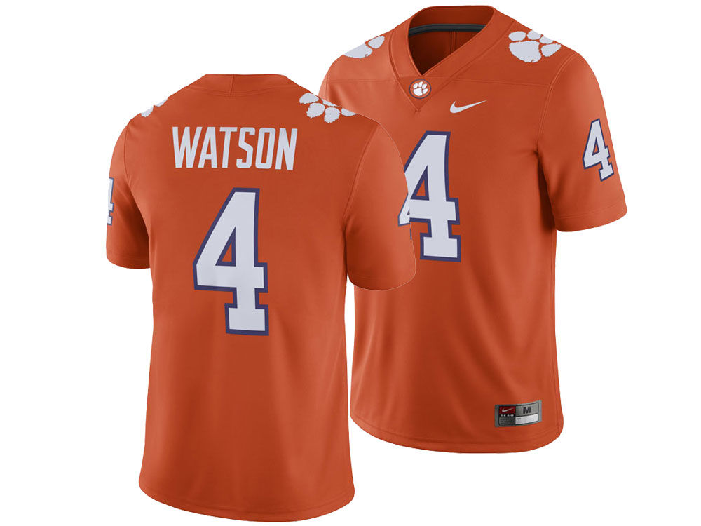 Clemson Tigers Deshaun Watson Nike NCAA Men s Player Game Jersey ... 71581a347