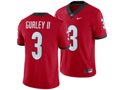 eba509543 Georgia Bulldogs Todd Gurley Nike NCAA Men s Player Game Jersey