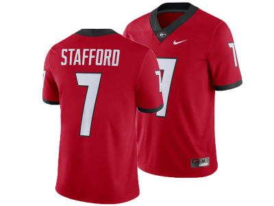 Georgia Bulldogs Matt Stafford Nike NCAA Men's Player Game Jersey