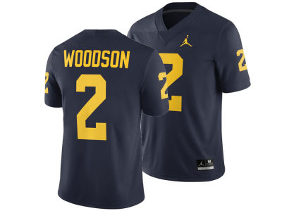 Michigan Wolverines Charles Woodson Nike NCAA Men's Player Game Jersey