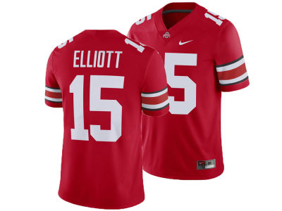 Ohio State Buckeyes Ezekiel Elliott Nike NCAA Men's Player Game Jersey