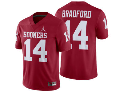 Oklahoma Sooners Sam Bradford Nike NCAA Men's Player Game Jersey
