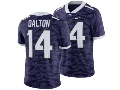 Texas Christian Horned Frogs Andy Dalton Nike NCAA Men's Player Game Jersey