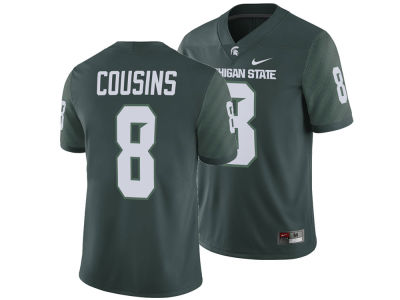 Michigan State Spartans Kirk Cousins Nike NCAA Men's Player Game Jersey