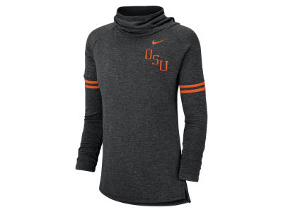 Oklahoma State Cowboys Nike NCAA Women's Funnel Neck Long Sleeve T-shirt
